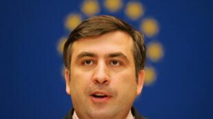Mikhaïl Saakachvili.