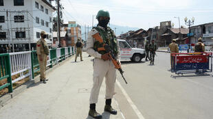 Thousands of security personnel have been deployed in the Kashmir Valley, one year after the region lost its autonomy
