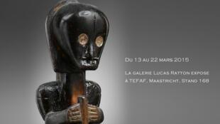 Une statuette Fang (Gabon) vendue 1,2 million d'euros à la Tefaf par Lucas Ratton.