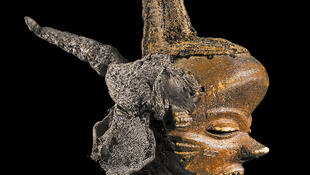 Pende, Democratic Republic of Congo, mbuya jia kifutshi mask