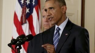 Le président des Etats-Unis, Barack Obama, s'est félicité de l'accord signé à Vienne sur le dossier du nucléaire iranien.