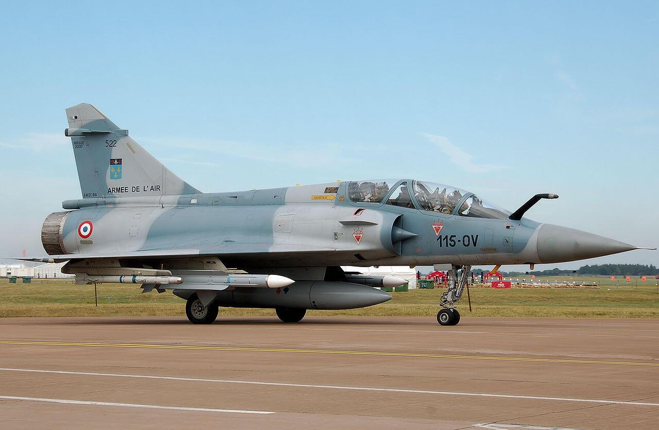 Истребитель Mirage 2000 D