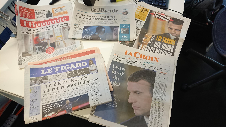 Diários franceses 22.08.2017