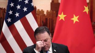 پکن ۲۸ تن از مسئولان پیشین دولت آمریکا از جمله مایک پمپئو را تحریم کرد. - تصویر آرشیوی