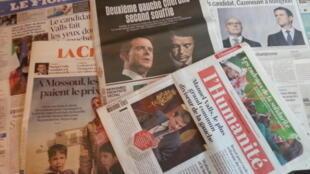 Primeiras páginas dos jornais franceses de 06 de dezembro de 2016