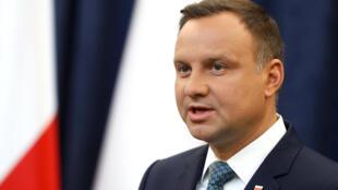 波蘭總統杜達近照