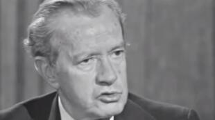 Juan Rulfo entrevistado en 1977.