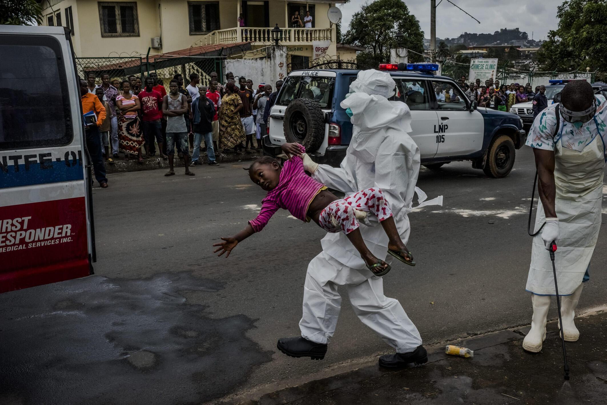 Ebola ta dawo a Liberia bayan ta kashe mutane sama da 4000