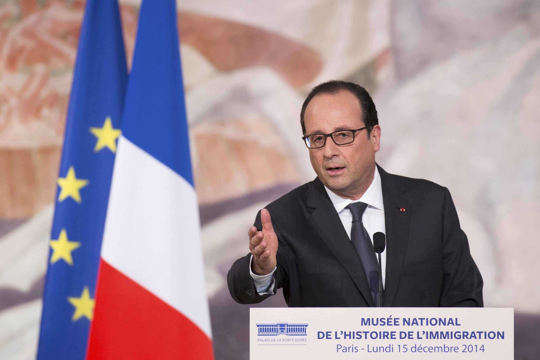 """François Hollande llamó a los parlamentarios a """"asumir sus responsabilidades"""" para permitir a los extranjeros votar en las elecciones locales en Francia.iscurso."""