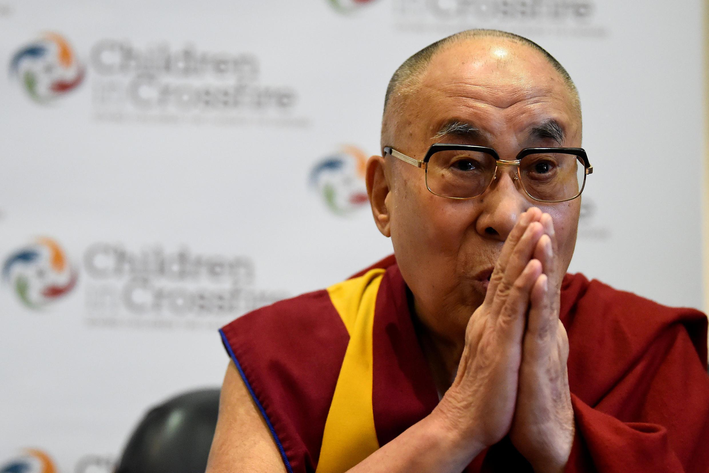 諾貝爾和平獎得主達賴喇嘛(資料圖片)