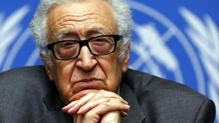 Mapatanishi wa Mzozo wa Syria Lakhdar Brahimi