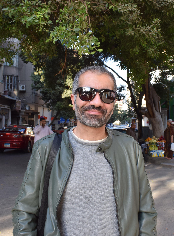 Joseph Fahim, film critic and programmer in Cairo, Egypt, November 25, 2019