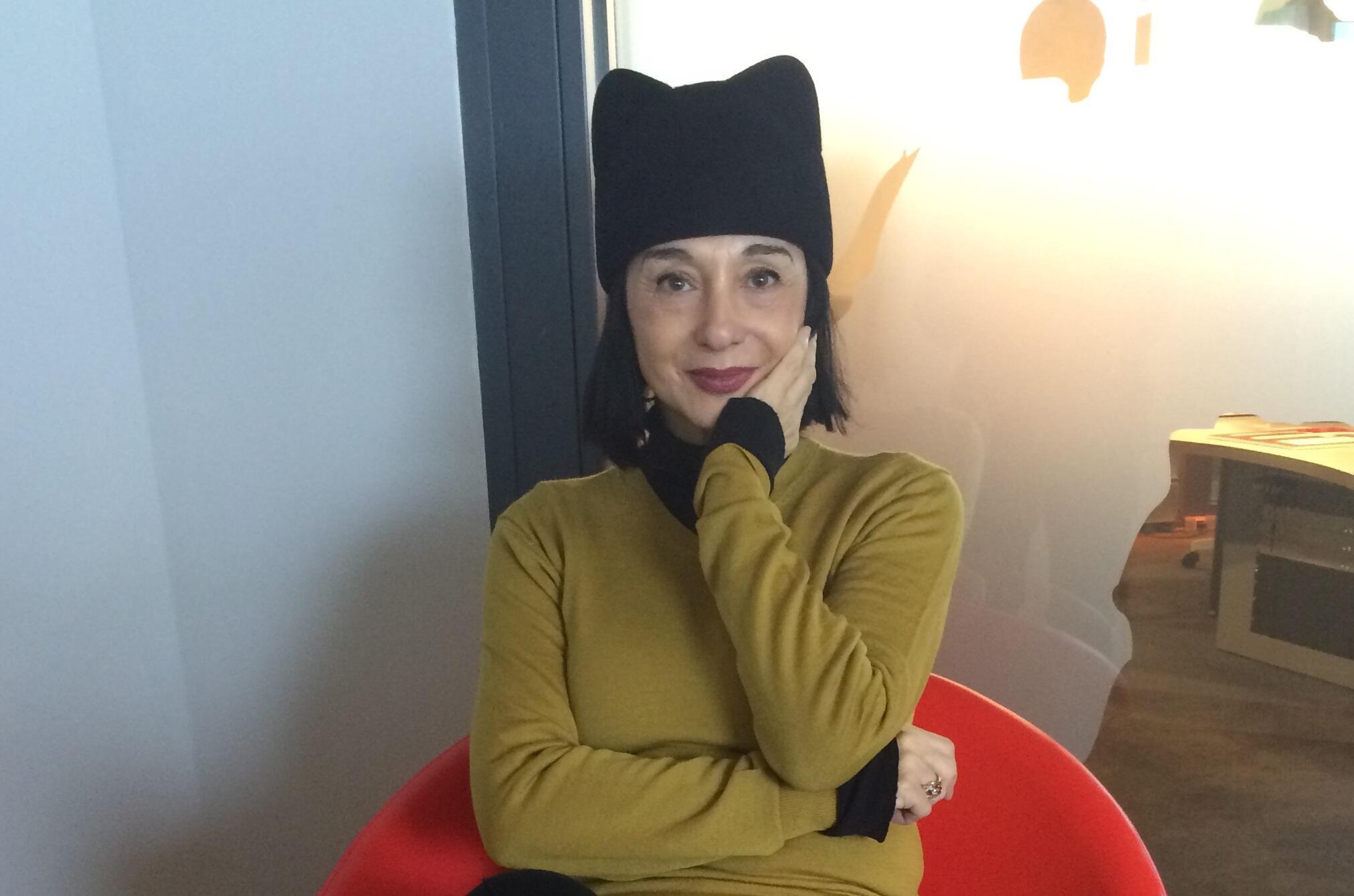A cantora Mísia está na França para divulgar CD duplo em homenagem a Amália Rodrigues.