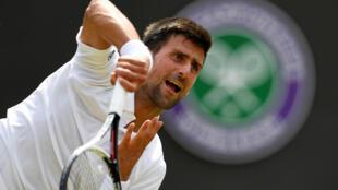 Novak Djokovic is seeking a fourth title at Wimbledon.