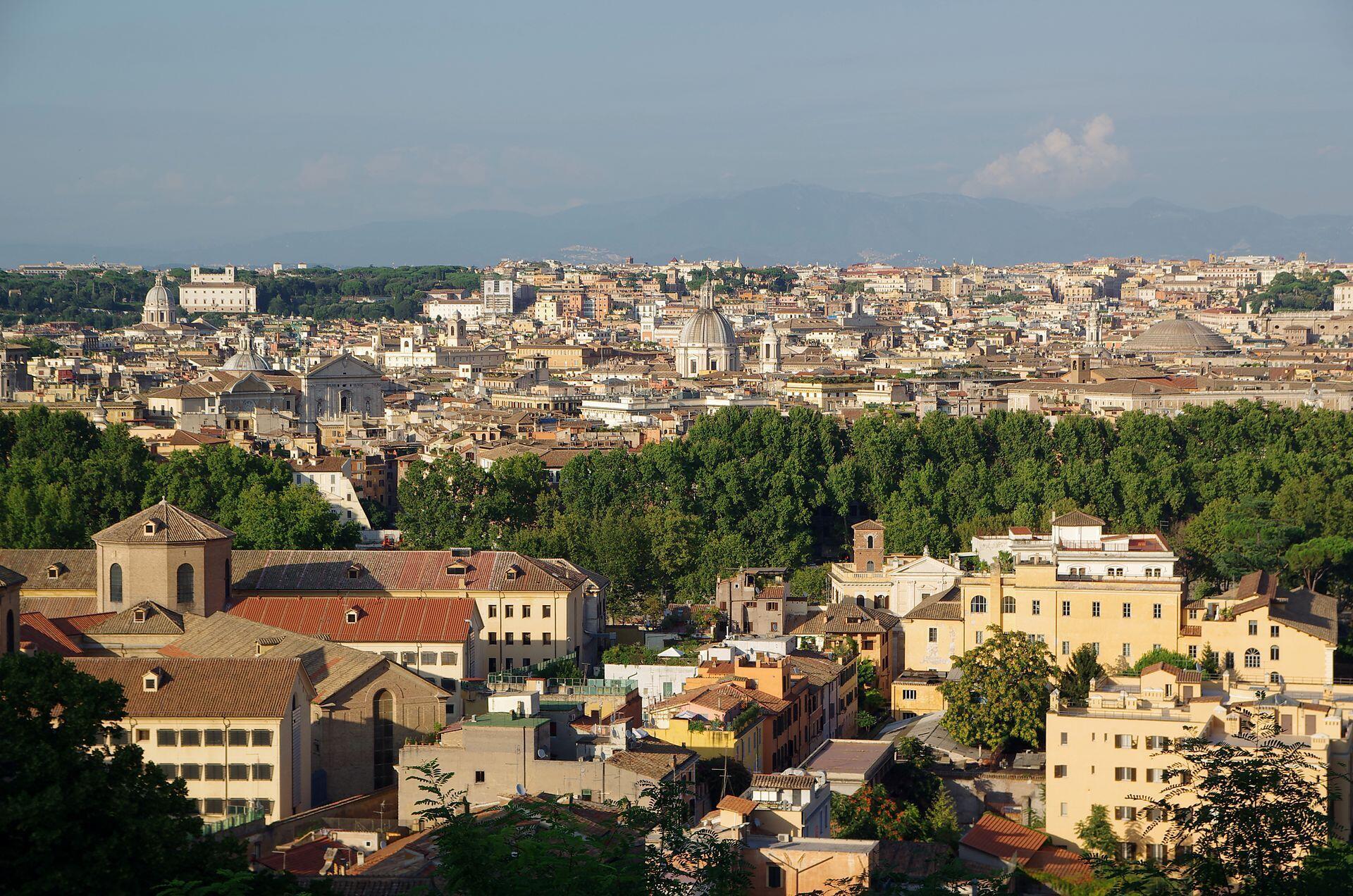 IMAGE Vue de la ville de Rome, Italie.