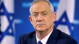 بنی گانتز وزیر دفاع اسرائیل.