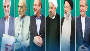 ۶ نامزد ریاست جمهوری ایران