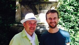 Samuel Camus et Thierry Auzer, Avignon 2016.