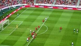 Selecção Portuguesa venceu ontem a Itália por 1-0 no Estádio da Luz em Lisboa, a contar para Liga das nações