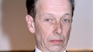Le poète suisse Philippe Jaccottet, ici en 1987, est décédé dans la nuit du 24 au 25 février 2021, à l'âge de 95 ans.  © Pascal GEORGE / AFP
