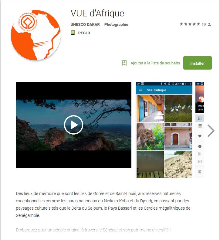 Vue d'Afrique App