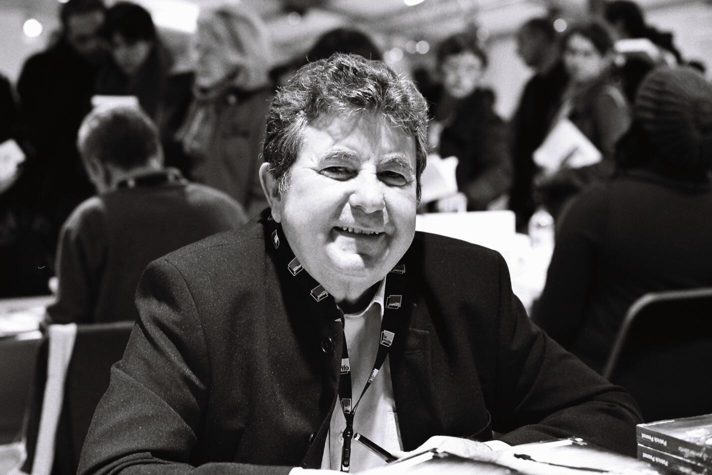 Patrick Pesnot au Salon du livre de Radio France, le 26 novembre 2011.