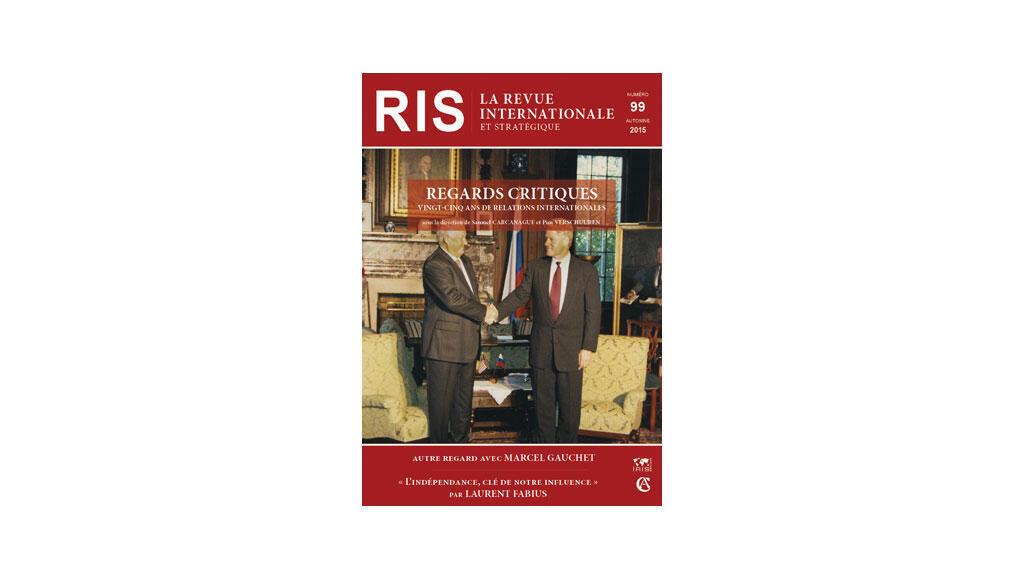 Couverture, Revue internationale stratégique n° 99, automne 2015.
