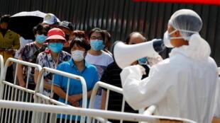 Coronavirus - test - Chine