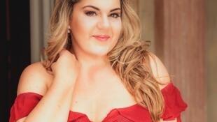 A cantora lírica Gabriella di Laccio.