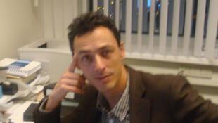 Emeric Rogier, Conseiller en Situations et Enquêtes au Bureau du Procureur de la CPI.