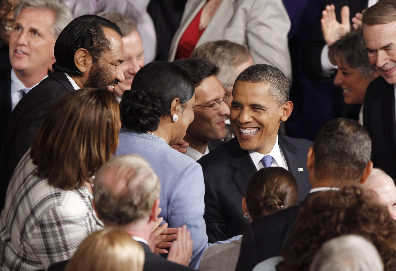 Барак Обама в Конгрессе США, 8 сентября 2011