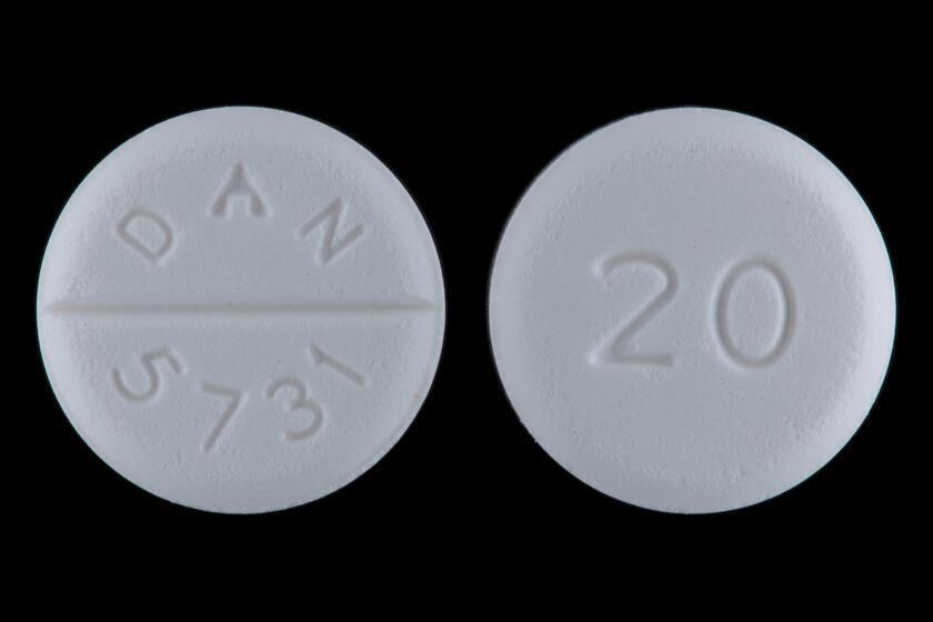Pílulas de Baclofen, que pode ser usado no tratamento de dependência de álcool e outras drogas