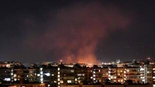 SYRIE - Damas AFP