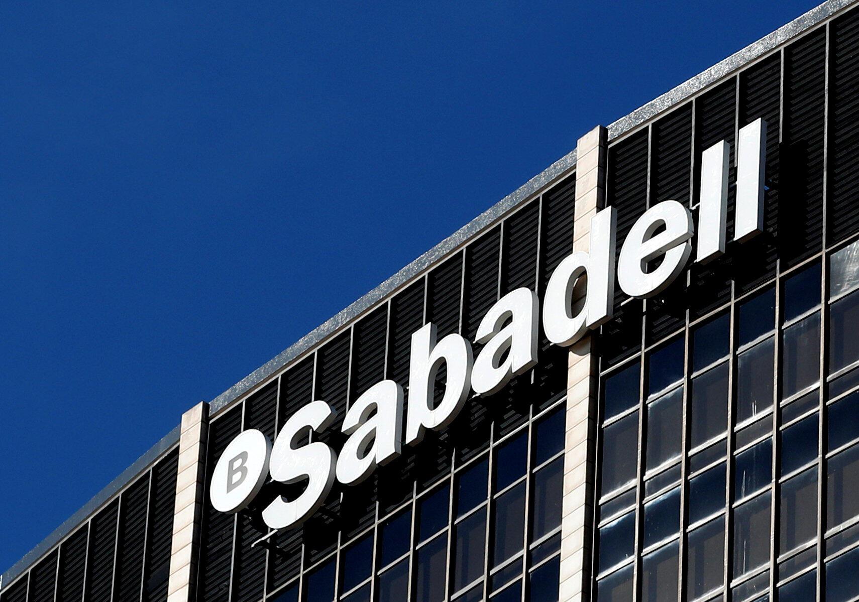 Sede central de Sabadell en Barcelona, el 5 de octubre de 2017.