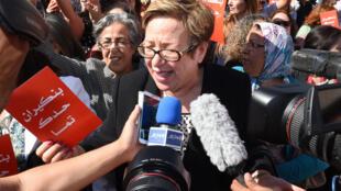 Nouzha Skalli, ancienne ministre de la Femme au Maroc.