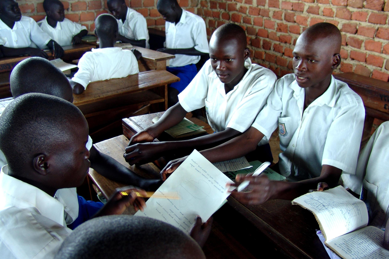 Wanafunzi nchini Uganda