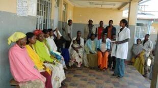 Formation hygiène et santé pour des jeunes mères en Ethiopie.