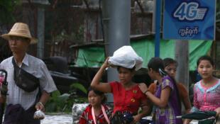 Les populations du sud de la Birmanie dans le désarroi à cause des fortes pluies