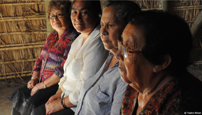 Grupo mapuche Kimen