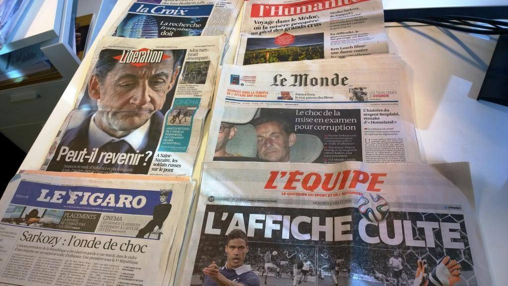 Diários franceses 02/07/2014