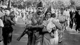 Famille de républicains. Barcelone, 25 juillet 1936. Agusti Centelles.