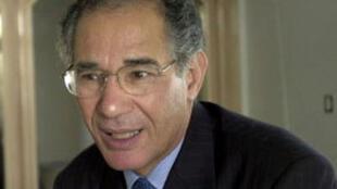 M. Mokhtar Trifi, président de la Ligue tunisienne des droits de l'homme.