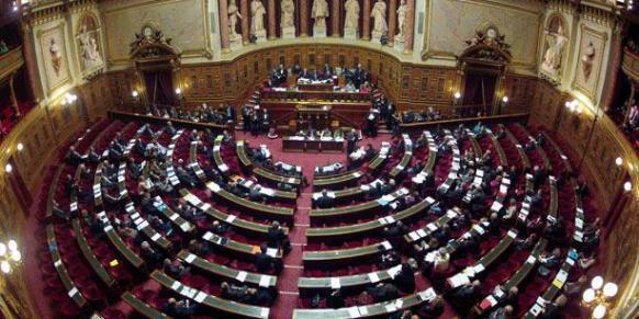 File photo of the French Senate