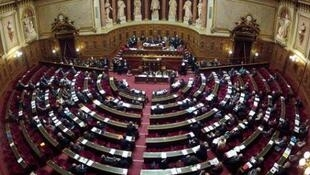 File photo of the French Senate
