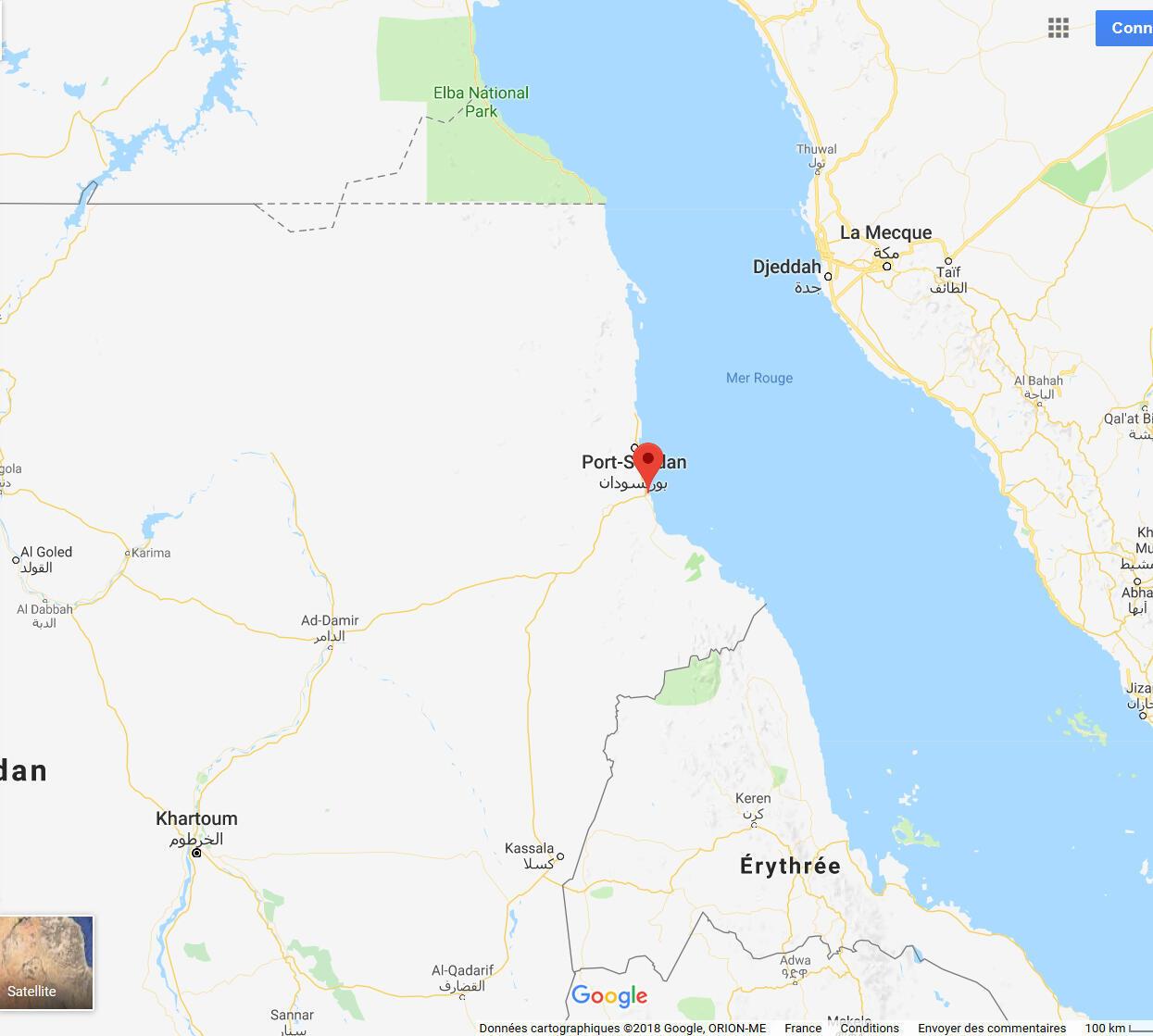 le port de Suakin, au sud de Port-Soudan, est situé sur une route maritime stratégique, celle de la mer Rouge.