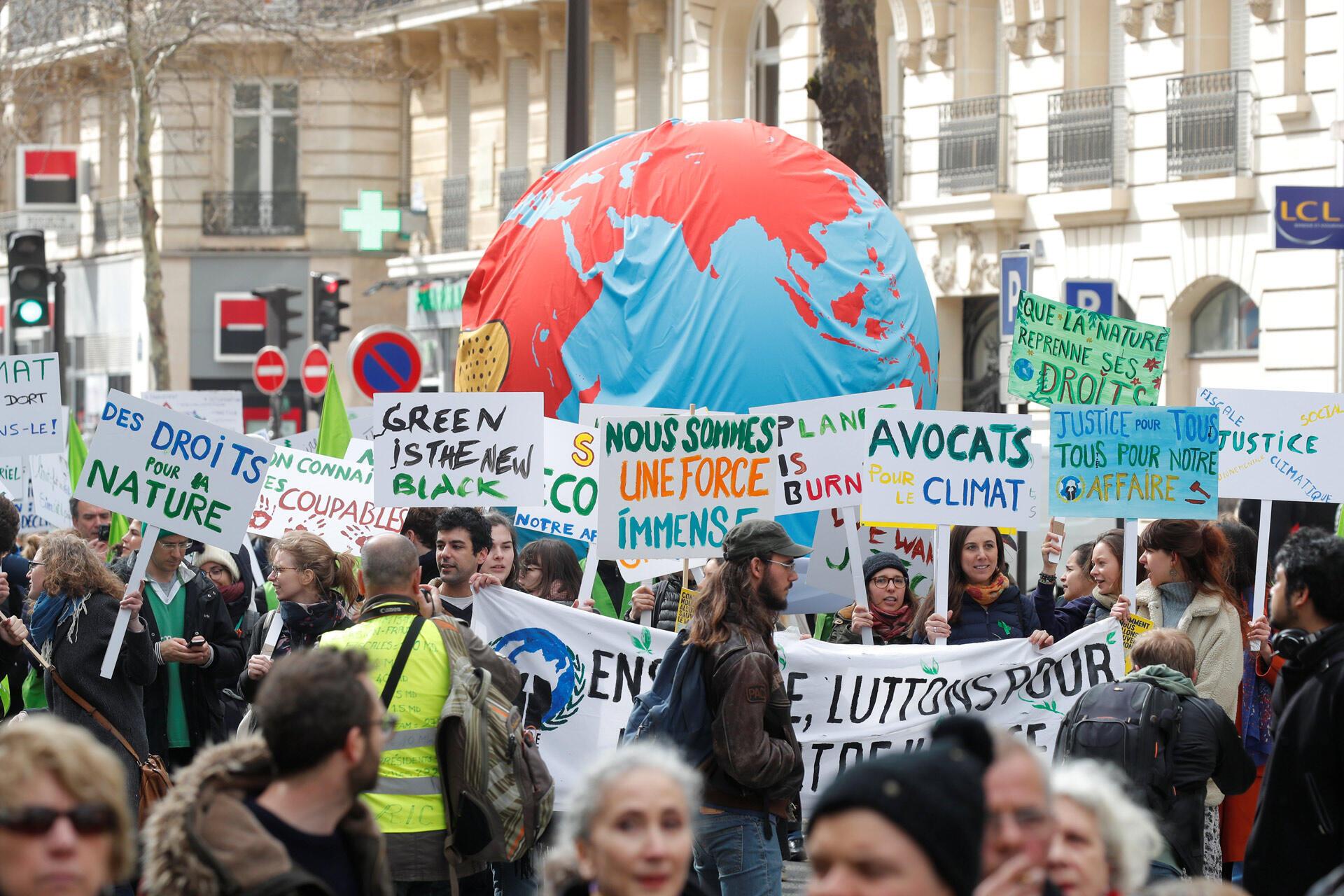France Paris manifestation climat marche du siecle