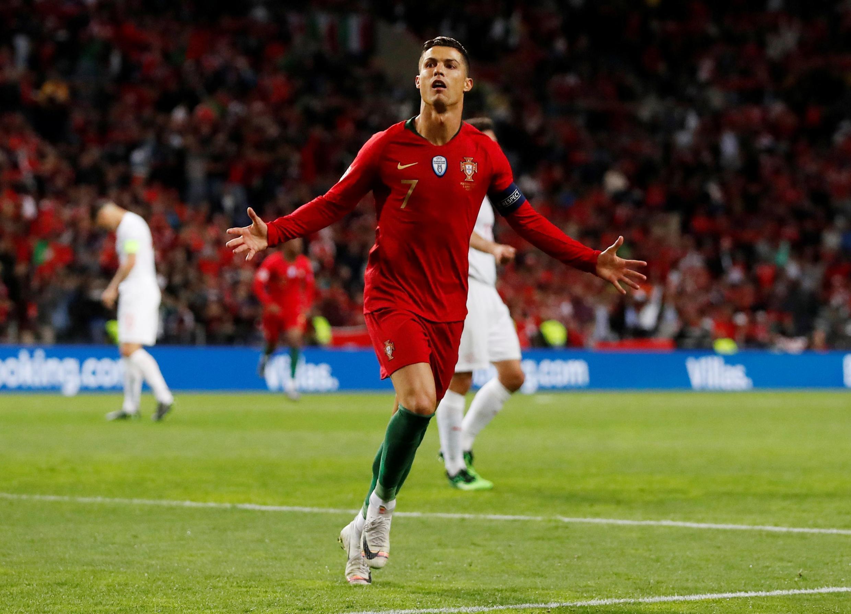 Cristiano Ronaldo, capitão da Selecção Portuguesa.
