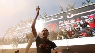 Torcedores dp Al-Ahly manifestam após julgamento que condenou 21 torcedores à morte