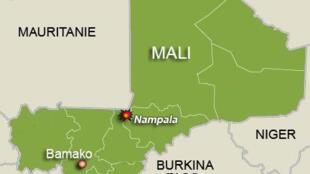 Un camp de l'armée malienne a été attaqué à Nampala, à 400 kilomètres au nord-est de Bamako, près de la frontière mauritanienne.