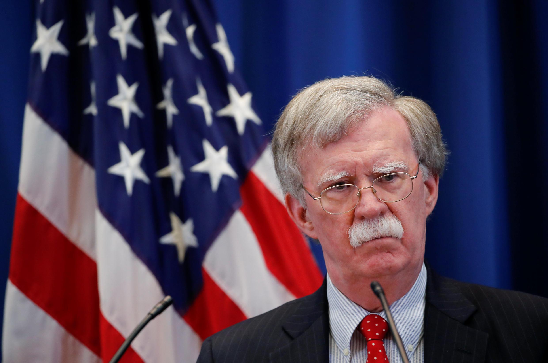 Nommé en avril 2018, John Bolton serait à l'origine de la décision de Donald Trump.